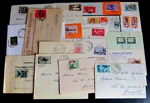Repubblica-Storia-Postale-Lotto-da-35-buste-con-commemorativi