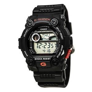Casio-Men-039-s-Watch-G-Shock-Digital-Tide-and-Moon-Data-Black-Strap-G7900-1