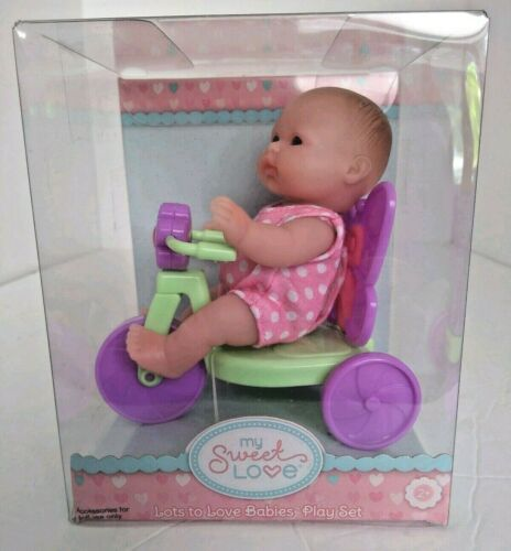 Berenguer Baby Doll My Sweet Love Scooter Tricycle Lots to Love Babies Play Set