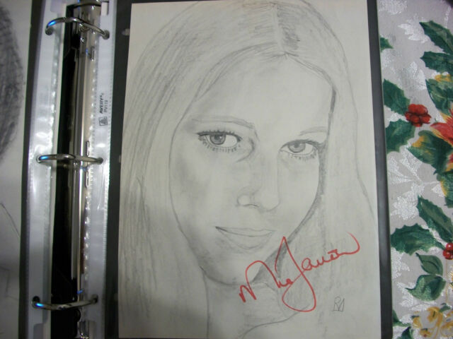 Mia Farrow autographed portrait with COA