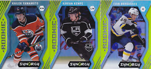 17-18-Upper-Deck-Synergy-Ivan-Barbashev-Rookie-GREEN-Parallel-Blues-2017