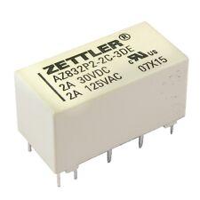 ZETTLER AZ832P2-2C-3DE Relais 3V DC 2xEIN 3A 45R Polarized DIP Relay 855058