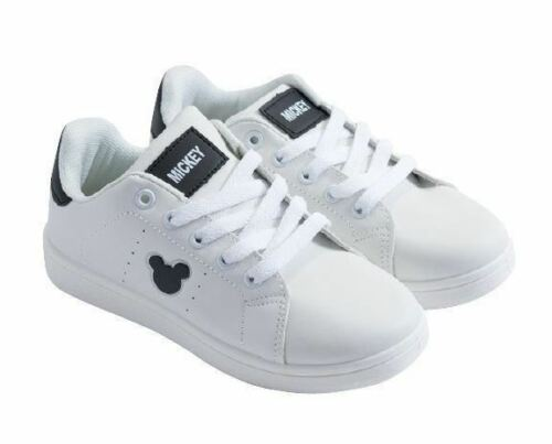 Disney Mickey Mouse Baskets Sneakers Enfants Vert Ou Noir Tailles Eu