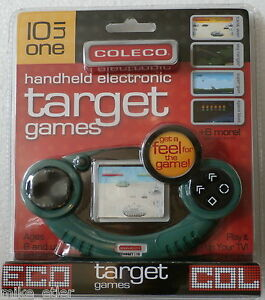 Coleco-10-in-1-Target-Games-LCD-Handheld-and-Plug-amp-Play-Coleco-2006-NEW