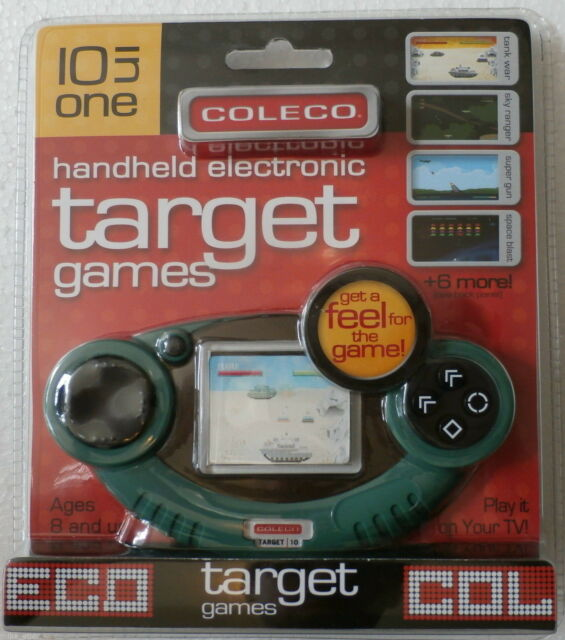 Coleco 10 in 1 Target Games LCD Handheld and Plug & Play (Coleco, 2006) NEW