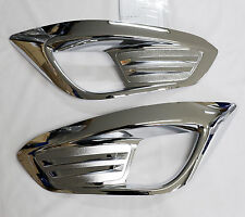 Fog Light Lamp Chrome Cover 2EA For Hyundai Tucson ix35 2010 2011 2012 2013