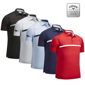 bfd1319fd 2019 Callaway Golf Mens Chev Mesh Tour Polo Shirt (m-xxl) Opti-Dri ...