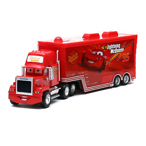 Disney-Pixar-Cars-Mack-NO-95-Lightning-McQueen-Truck-1-55-Diecast-Toy-Loose-New