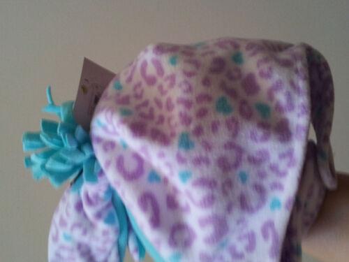 Infant Toddler Hat Mitten Set Chin Strap Choose Size /& Pirate Moose Cheetah Owl