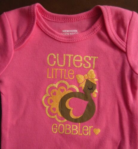 First lil/' /& Or Cutest Little Gobbler Easter Mother/'s Day Father/'sOnesie NB-9