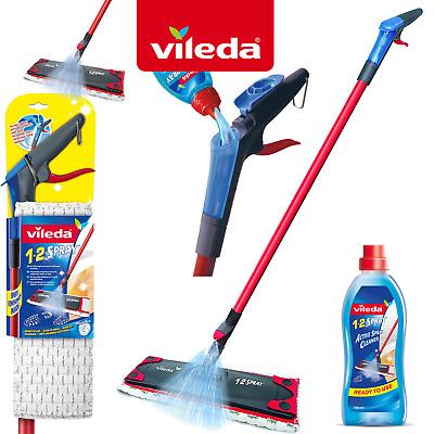 Vileda 1 2 Spray Mop Floor Cleaning Wood Tiles Laminate