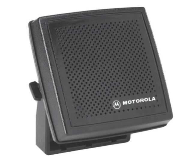Motorola HSN9B External Speaker 9w 9 Pin Connector