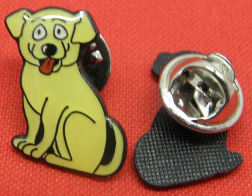 Dog Labrador Lapel Hat Cap Tie Pin Badge Animal Brooch
