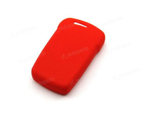 Red Silicone Case Cover For BMW 7 Series E65 E38 E39 Remote Smart Key 4 Buttons