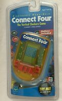 Connect 4 Electronic Handheld Game NEW MIB MB 2007