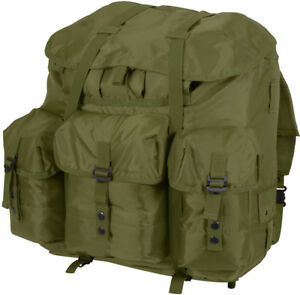 Image is loading Olive-Drab-Medium-Alice-Pack-Waterproof-Backpack-with- 79b7d2bf35e