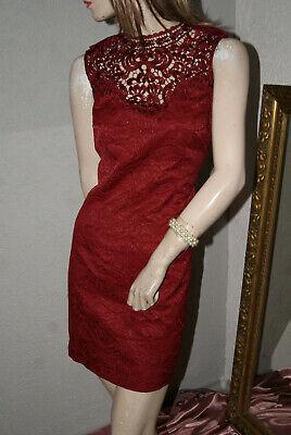 2019 Moda Immagine Bel Vestito Elegante Astuccio Abito Apart Rosso Scuro Splendenti ** Orsay ** Nw 38-mostra Il Titolo Originale Elegante Nell'Odore