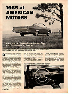 1965-AT-AMERICAN-MOTORS-ORIGINAL-4-PAGE-NEW-CAR-PREVIEW-ARTICLE-AD