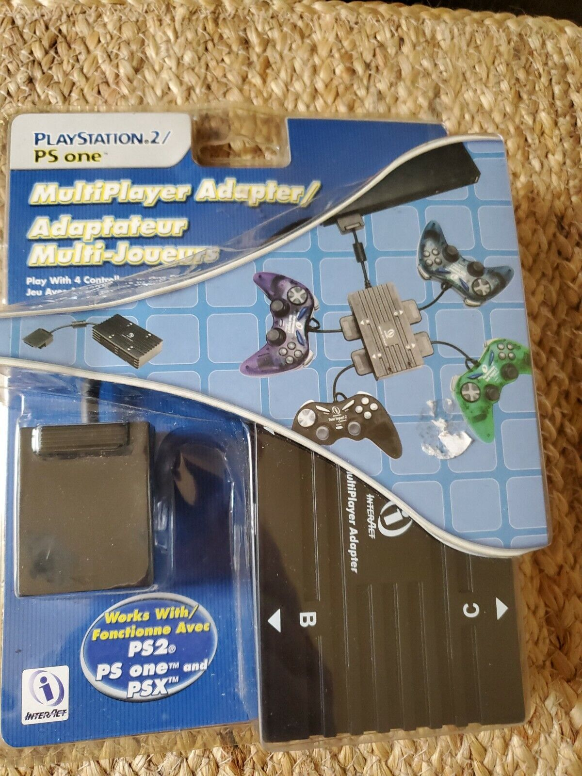 *Brand New* InterAct Multiplayer Adapter for Playstation 2 PS2/ PS One