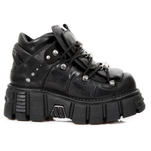 Unisex Boots New Rock NR M.106 S43 Black Metallic