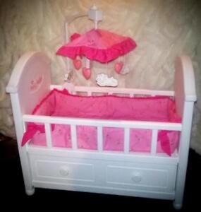 ... Retired Original American Girl Bitty Baby Crib W