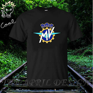 IS Mv Agusta T-Shirt Biker Motorcycle Rider Various Sizes /& Colours