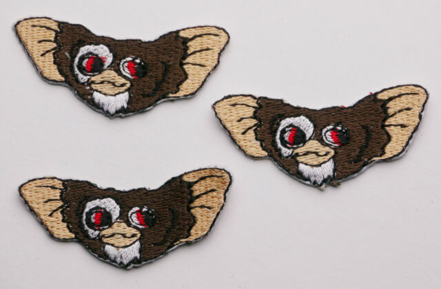 "GREMLINS ""MOGWAI, GIZMO"" Iron-On Patch Set - PICK 'N' MIX - #1A18"