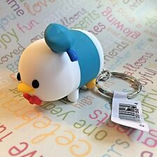 Authentic Disney Tsum Tsum Vinyl Figural Keychain Clip Ring Donald Duck
