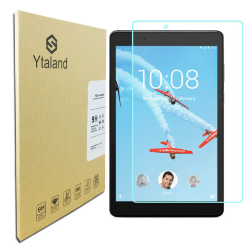 Ytaland Tempered Glass Film Cover Screen Protector For Lenovo Tab E8 TB-8304F