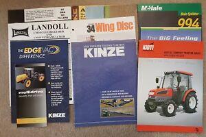 Utile Job Lot Of Sales Brochures X 10 (a)-afficher Le Titre D'origine éLéGant Dans Le Style