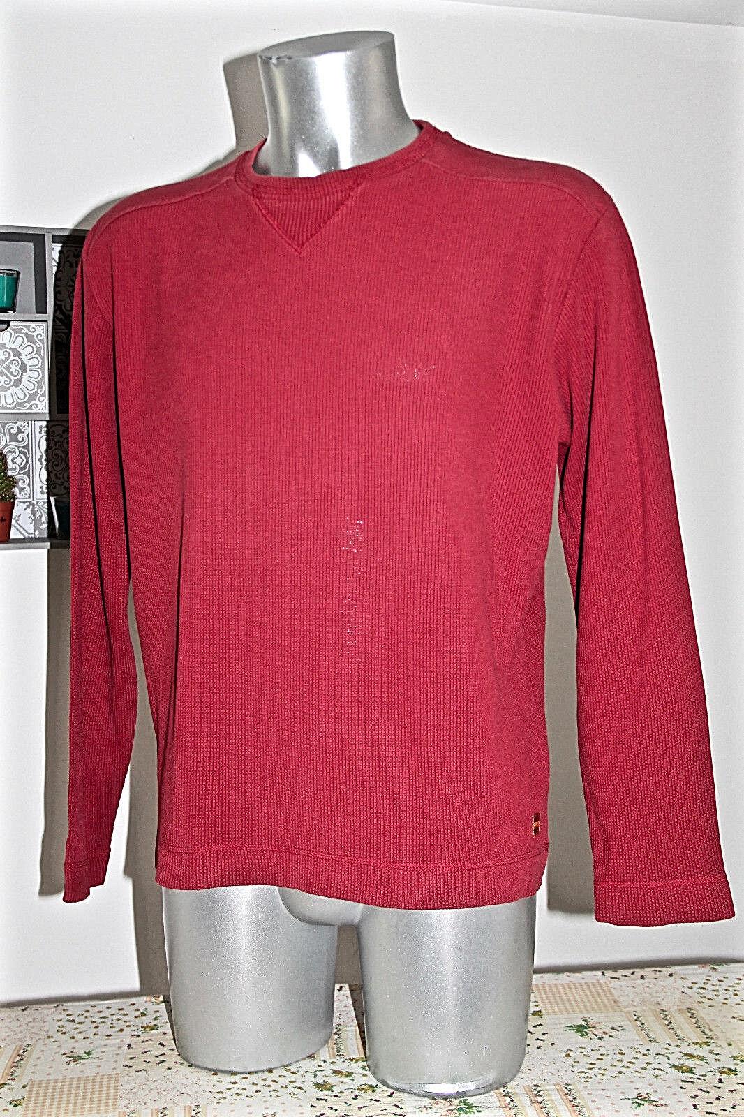 HUGO BOSS NARANJA muy bonito suéter rojo talla L de hombre EXCELENTE ESTADO