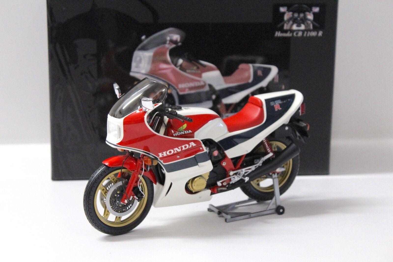 1:12 Minichamps Honda CB 1100 R White/Red/Blue 1982 New chez Premium-modelcars   Offre Spéciale