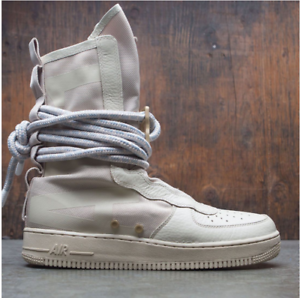 Nike SF Special Field Air Force 1 AF1 Hi Boot Tan Rattan Size 9. AA1128-200