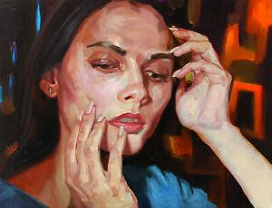 ORIGINAL-OIL-CANVAS-PORTRAIT-PAINTING-ART-BY-UKRAINE-ARTIST-IGORGREY