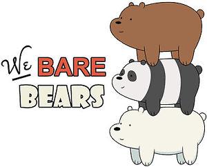 we bare bears tshirt personalize birthday gift tee custom new tv