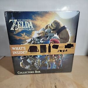 Legend of Zelda Breath Of The Wild Collector's Box - 7 Piece Set New Nintendo
