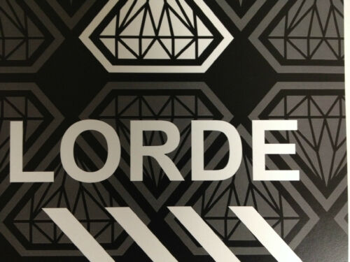 "Lorde 17/""x26/"" band poster print"