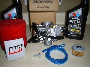 S L on 2000 Honda Rancher Carburetor