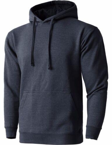 Mens PULLOVER HOODIE Fleece Shirts Hooded Tee Sweatshirt Heavy Casual Fashion