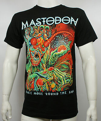 Authentic MASTODON Once More 'Round The Sun Slim Fit T-Shirt S M L XL XXL NEW