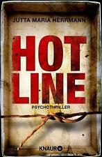 Hotline - Psychothriller von Jutta Maria Herrmann (2014, Taschenbuch) UNGELESEN
