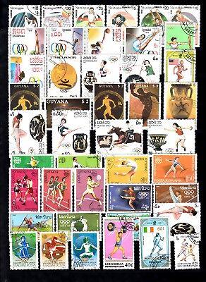 ))lot Briefmarken Motiv Olympiade Seoul Olympics Seoul O (567) Ausgereifte Technologien