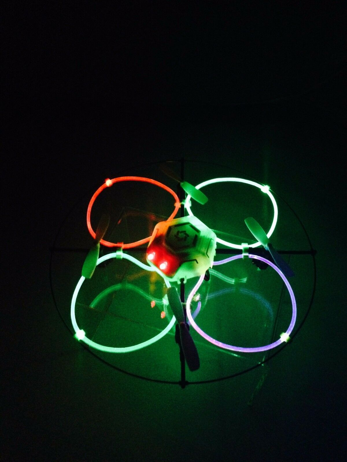 Odyssesy Sky Flyer NX RC Drone with LED Fiber Fiber Fiber Optic Lights 6e7d45