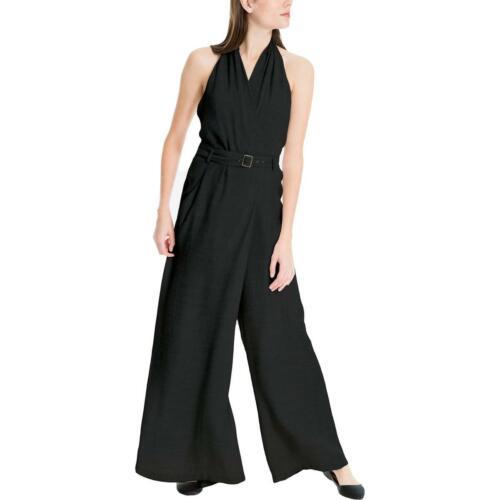 Max Studio London Womens Wide Leg Halter Casual Jumpsuit BHFO 7048