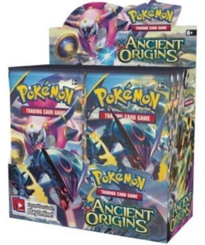 2 Packs New ! 2 POKEMON XY ANCIENT ORIGINS BOOSTER PACKS