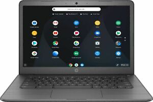 "HP - 14"" Touch-Screen Chromebook - Intel Celeron - 4GB Memory - 32GB eMMC Fla..."