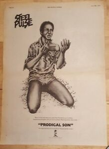 Steel-Pulse-Prodigal-son-1978-press-advert-Full-page-28-x-39-cm-poster