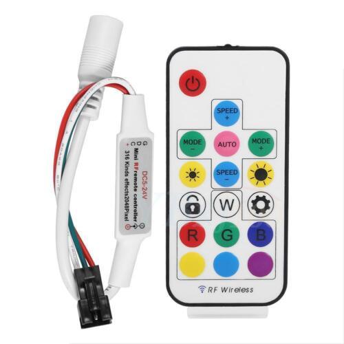 adaptateur Numérique 5 M Mât DEL Dream Lumières RF Remote Control 300 réglages