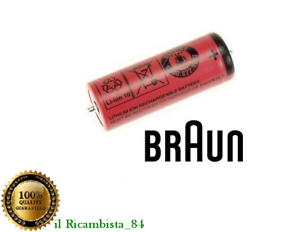 ORIGINALE BATTERIA BRAUN RASOIO ELETTRICO SERIE 7 9 SILK EPIL 1300MAH 81377206