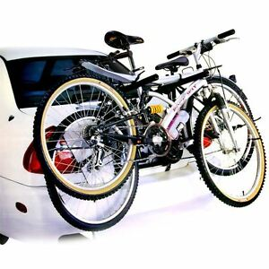 New Universal Bicycle Bike Carrier Car Rack For 2 Bikes